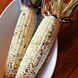 Grilled Corn With Herbed Butter