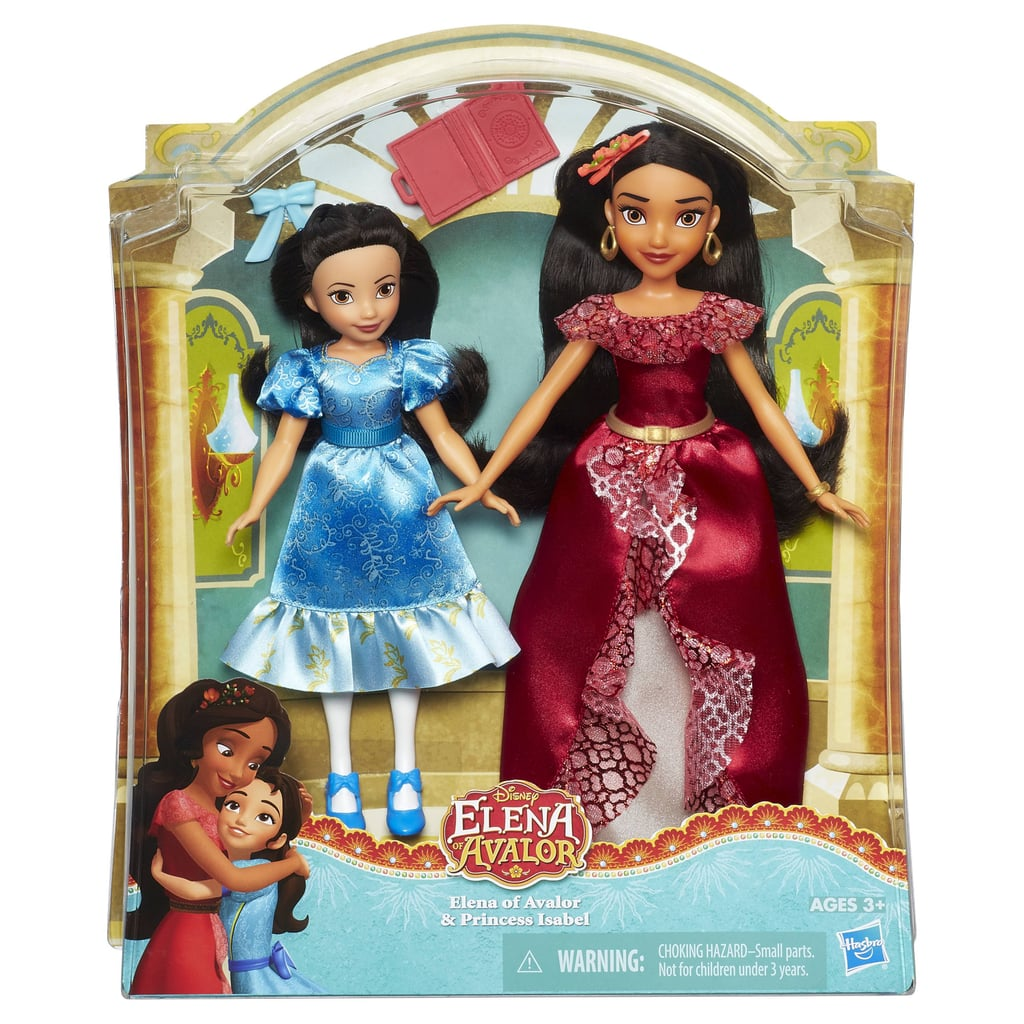 Disney Elena of Avalor and Princess Isabel Doll