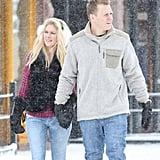 Heidi Montag and Spencer Pratt took a Sunday stroll in Aspen, CO.