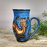 Hand-Thrown Haku Dragon Mug ($30)