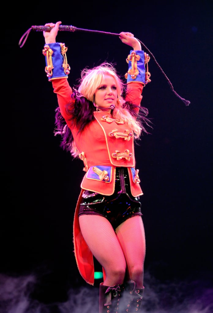"""The Circus Starring Britney Spears"" Tour in 2009"