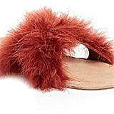 While these Brother Vellies Marabou Lamu Slide Sandals ($285) aren't for the faint of heart, they will definitely be a conversation starter.