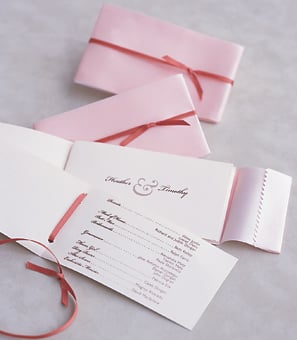 The Wedding Program