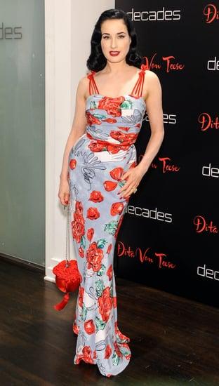 Dita Von Teese S Style Interview Popsugar Fashion