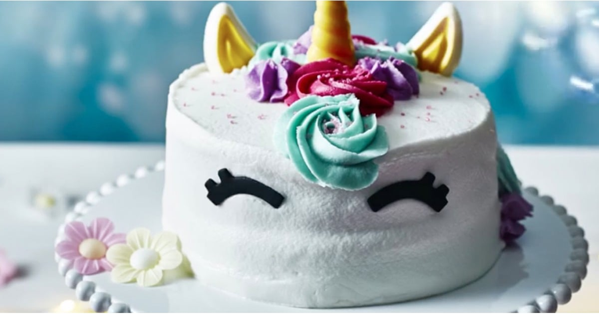 Character Birthday Cakes Asda ~ Asda unicorn birthday cake popsugar uk food