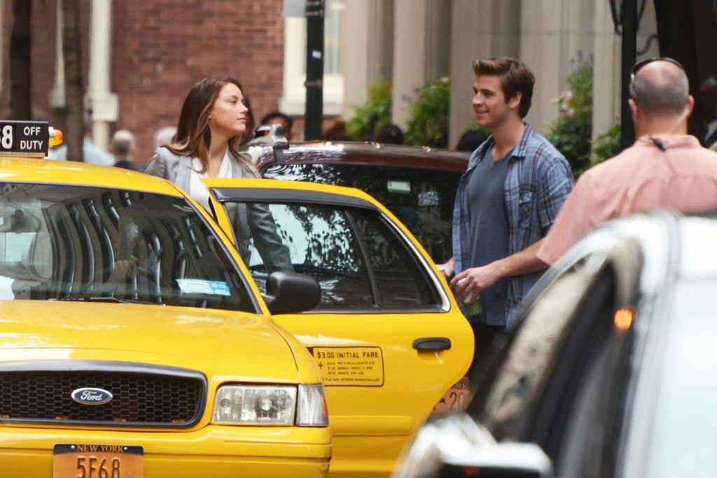 Amber Heard and Liam Hemsworth filmed in Philadelphia.