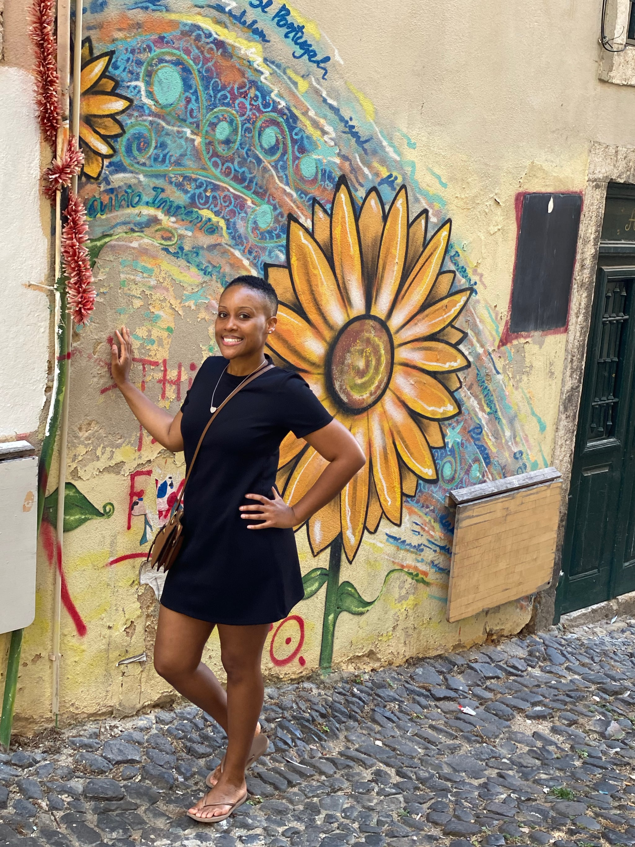 Shar in Lisbon, Portugal Photo Courtesy of Shar Wynter