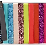 Sophie Hulme Rainbow Sequin-Embellished Leather Pouch