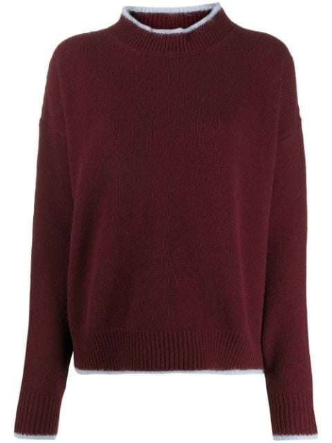 Marni Bi-Color Crewneck Sweater