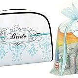 Yacanna Wedding Day Bridal Emergency Kit Bride Travel Bag in Aqua