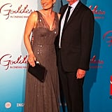 Laura Michelle Kelly and Director Mark Lamprell