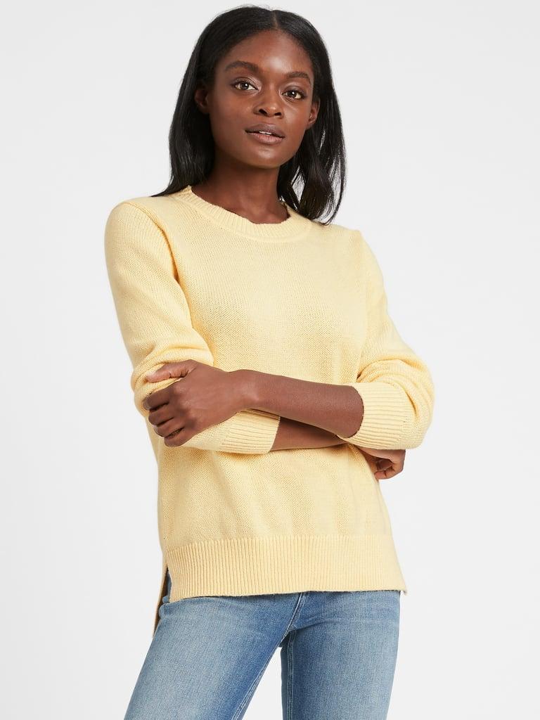 Banana Republic Chunky Crew-Neck Sweater