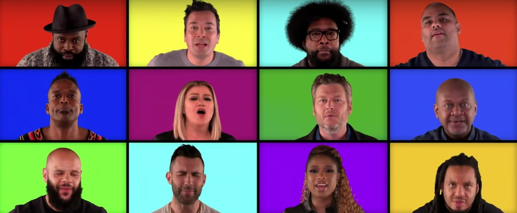 The Voice Coaches Sing Mashup on The Tonight Show Video