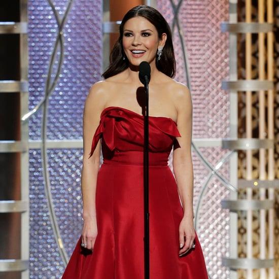 Catherine Zeta-Jones Emoji Dress