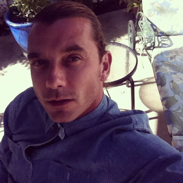 Gavin Rossdale shared a sexy self-portrait.  Source: Instagram user gavinrossdale
