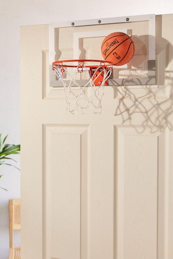 Spalding Over-The-Door Slam Dunk Mini Basketball Hoop