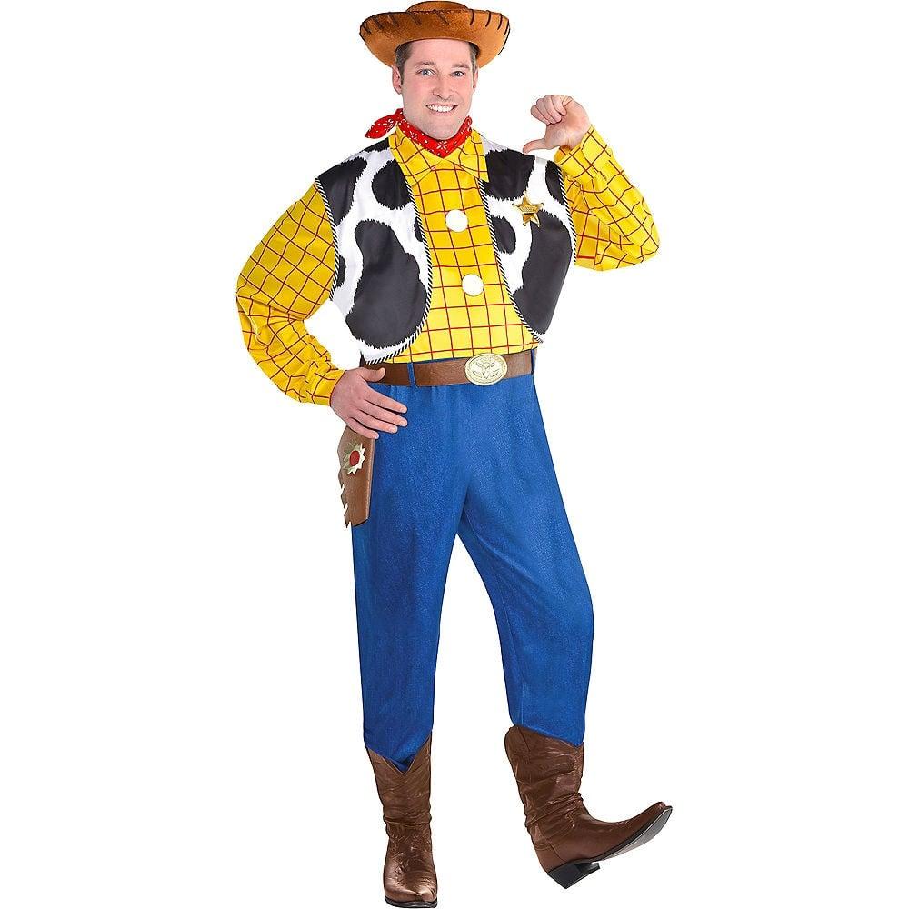 Plus Size Halloween Costumes 2019.Plus Size Woody Costume For Adults Toy Story Halloween Costumes