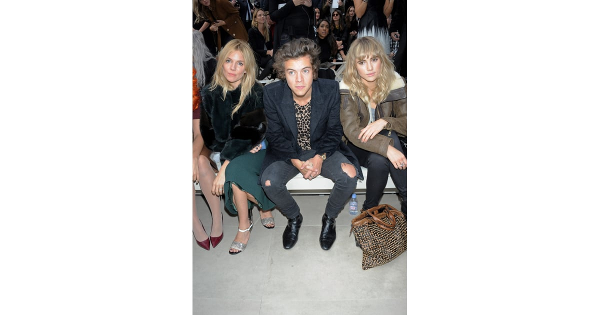elizabeth hair styles harry styles sat with miller and suki waterhouse at 5843