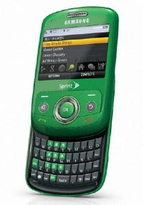 Samsung Debuts Its Green Cell Phone — the Reclaim