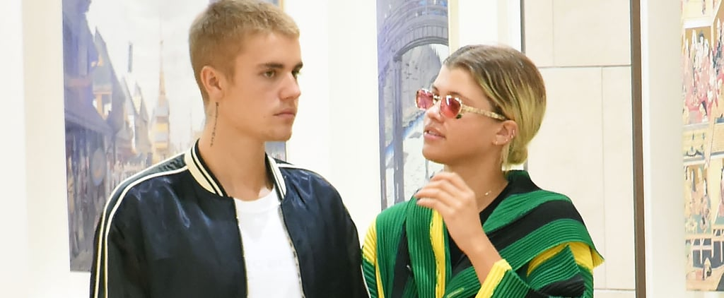 Justin Bieber and Sofia Richie Are Sending Us a Message With Their Outfits