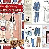 William and Kate Paper Dolls ($10)