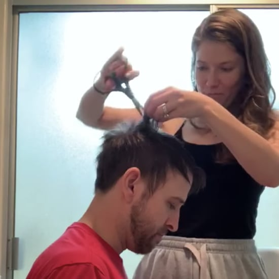Woman Gives Hilarious Haircut to Husband at Home | Video