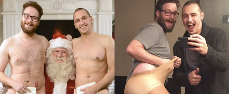 "James Franco and Seth Rogen's ""Leaked"" Pictures Are Out-of-Control Hilarious"