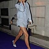 Irina Shayk's Street Style at London Fashion Week