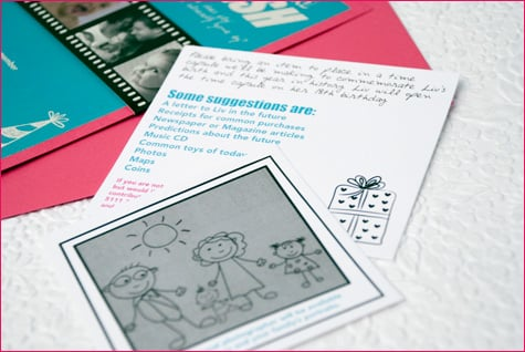 Create a Birthday Time Capsule