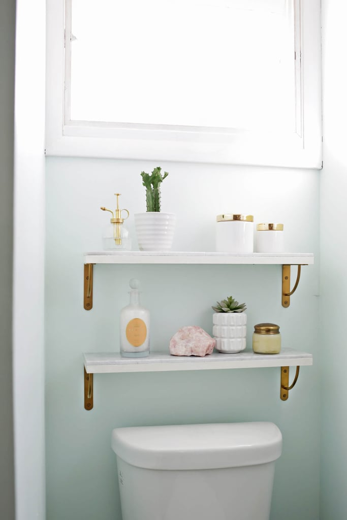 Install Open Shelves For Storage How To Brighten A
