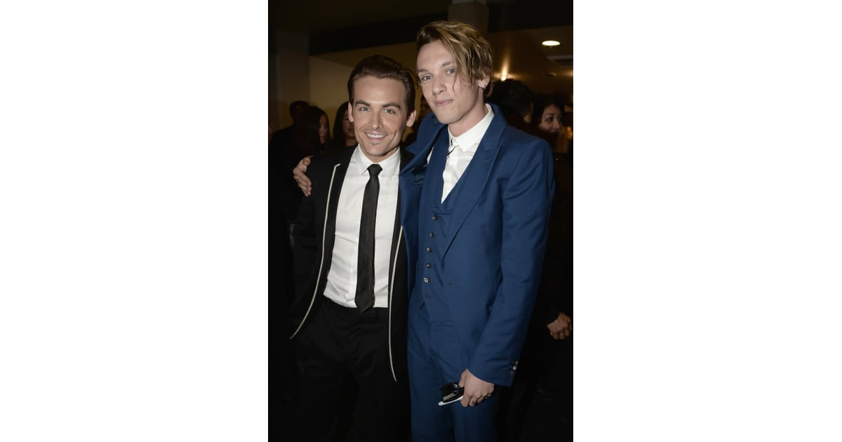 Kevin Zegers and Jamie... Jamie Campbell Bower And Kevin Zegers