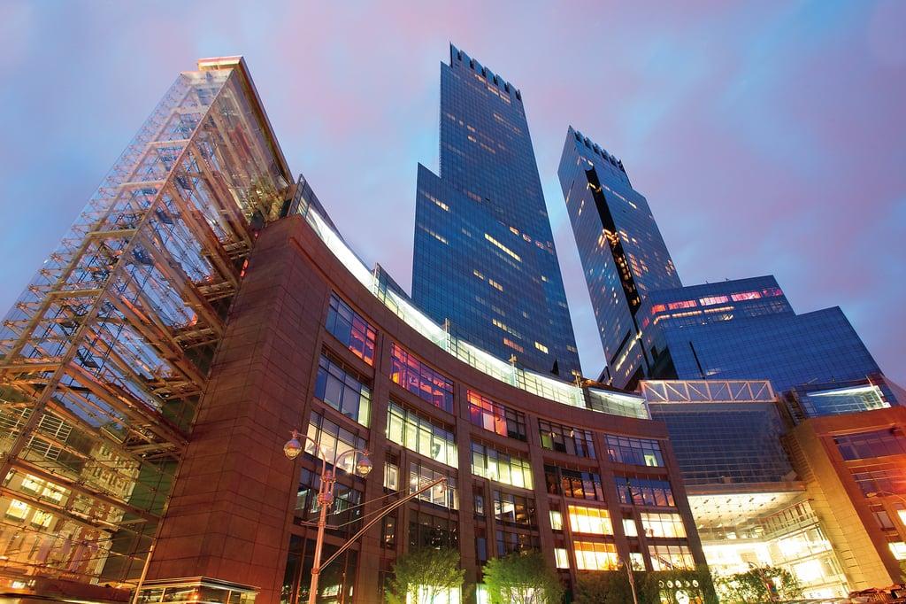 المبنى الخارجيّ لفندق ماندارين أورينتال في نيويورك