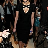 Ashlee Simpson attended the Herve Leger show.