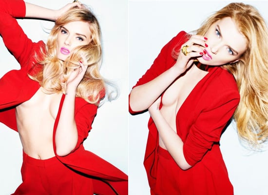 Lily Donaldson Gets Cheeky in This Colourful New Spread