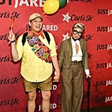 Daniel Nguyen and Jeannie Mai as Russell and Carl From Up