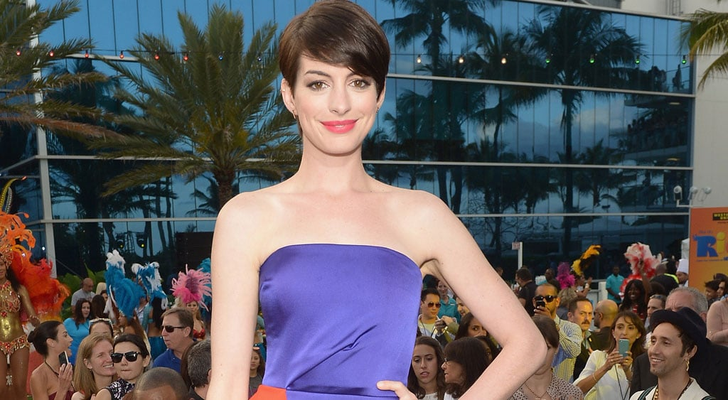Anne Hathaway Shares Hilarious Yearbook Photos of Some of Hollywood's Biggest Stars