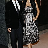 Maggie Gyllenhaal and Peter Sarsgaard together in Milan.