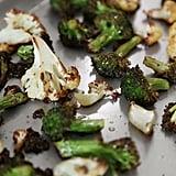 Roast Broccoli and Cauliflower
