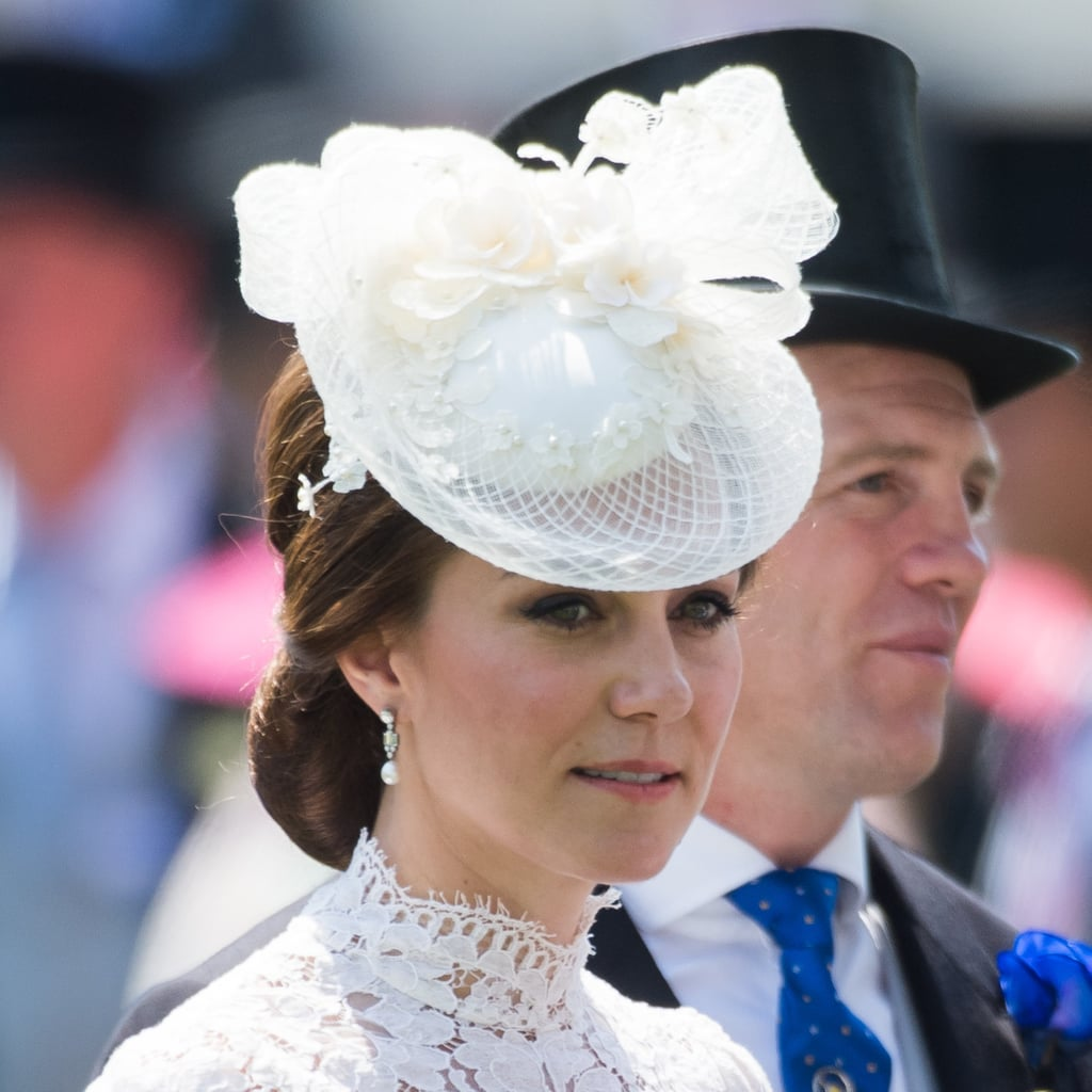 Kate Middleton Wears Hairnets