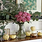 Fall Decorated Sideboard