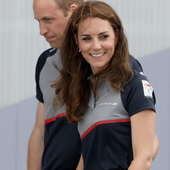 Kate Middleton Wearing Jeans and Heels