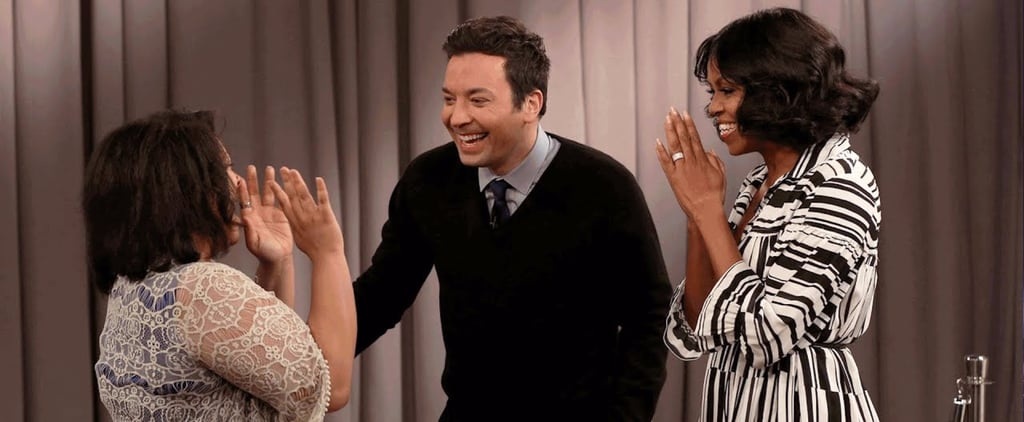 "Michelle Obama Surprising Fans on The Tonight Show Will Have You Screaming, ""Don't Go!"""