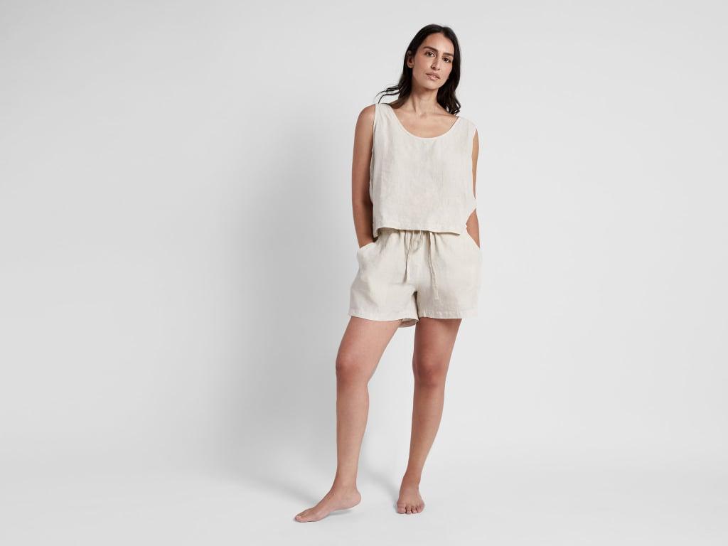 Parachute Linen Shorts