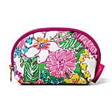 Lilly Pulitzer Round-Top Travel Clutch Bag