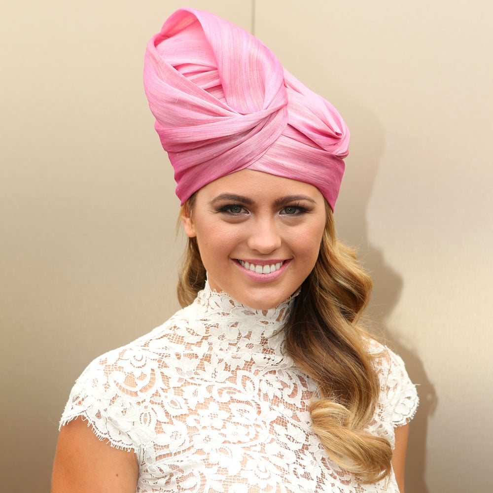 Pictures of Jesinta Campbell at the 2012 Melbourne Cup