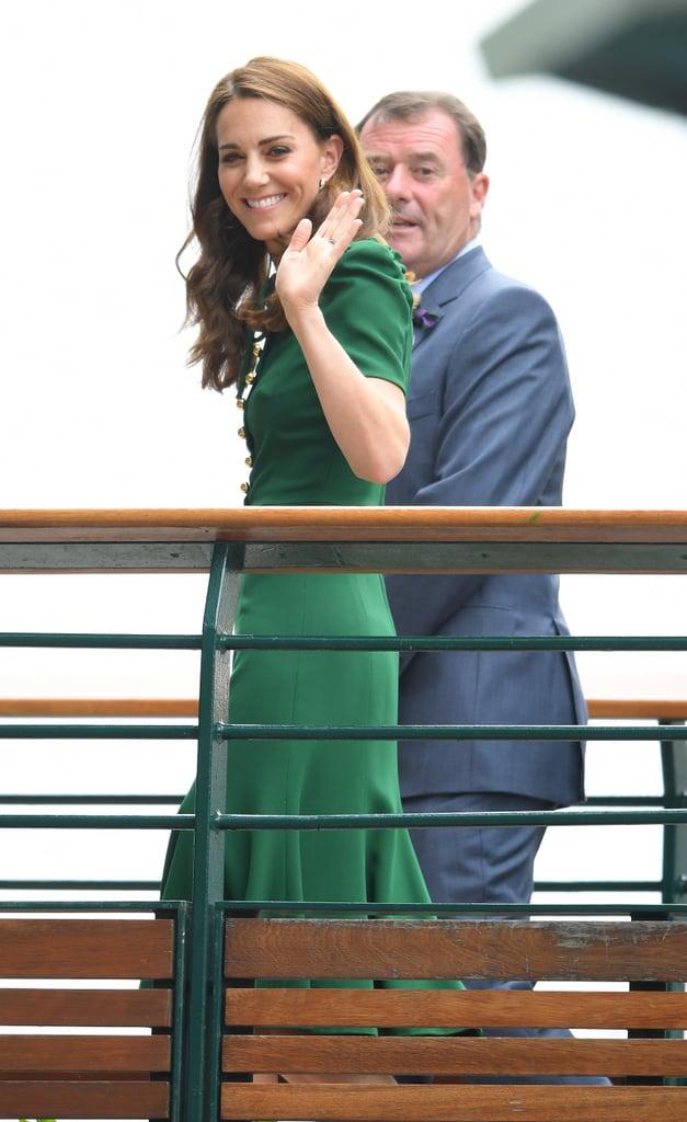 Kate Middleton at Wimbledon 2019