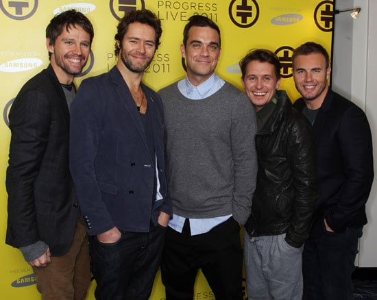Take That Announce Tour Dates 2011 Tickets On Sale 9am Friday 29 Oct 2010