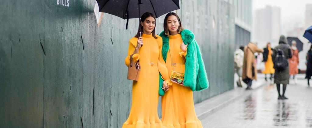 Matching Outfits at Fashion Week Fall 2018