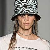 A Hat on the R13 Runway at New York Fashion Week