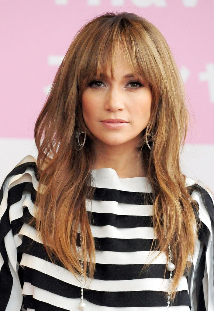 Jennifer Lopez's Wispy Bangs in 2009
